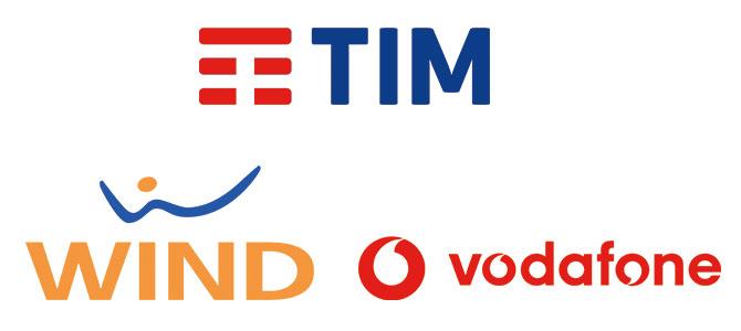 tim, wind, vodafone