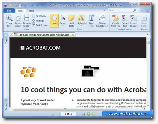 Prima alternativa gratuita ad Adobe Acrobat per modificare PDF