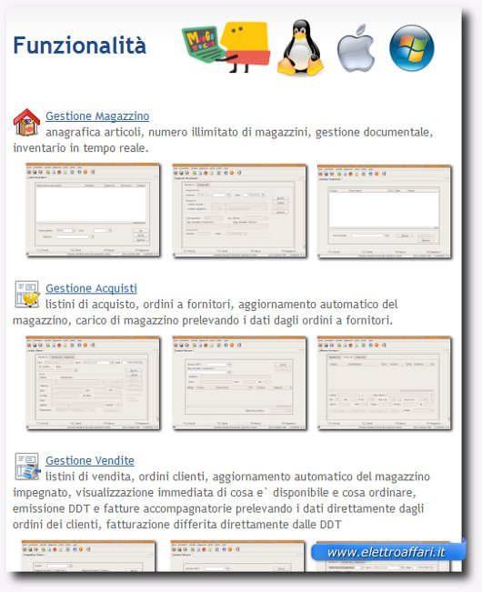 Secondo software gestionale per Linux