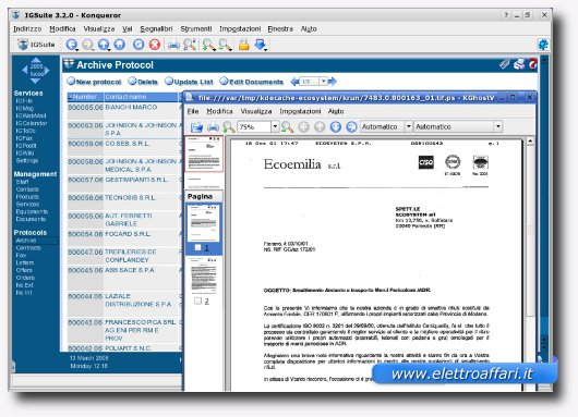 Sesto software gestionale per Linux
