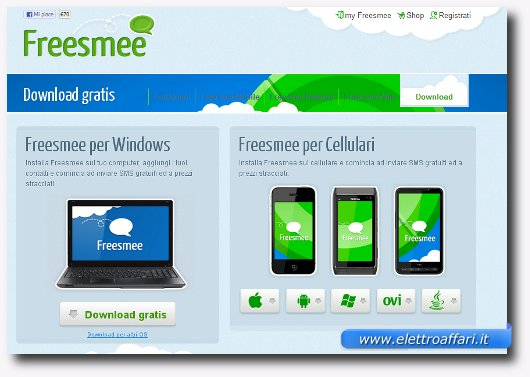Software per inviare SMS gratis