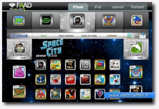 Primo sito per scaricare apps e giochi