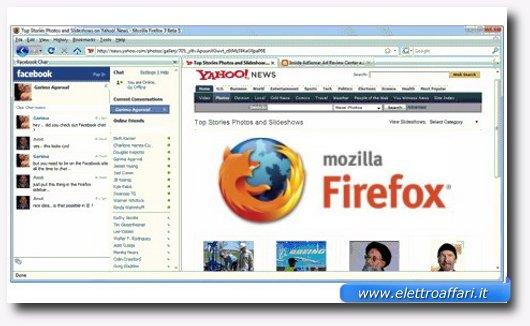 Avere la chat di Facebook sulla sidebar di Firefox