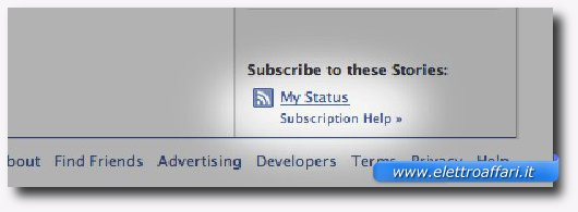 Mostrare lo stato di Facebook sul proprio blog