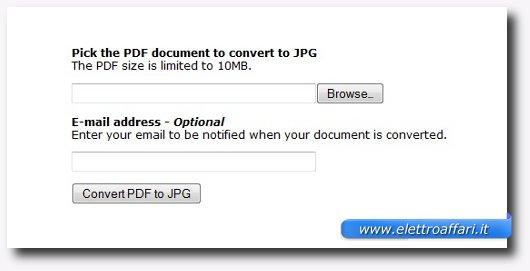 Ottavo sito per convertire documenti online