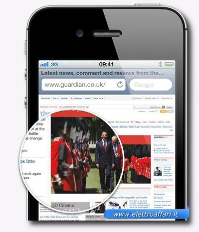 Settima caratteristica migliorata nell'iPhone 4S