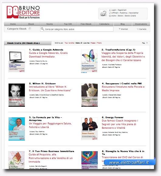 Sito da dove scaricare eBook italiani gratis