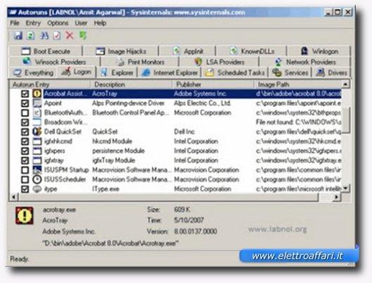Secondo programma per velocizzare Windowss XP