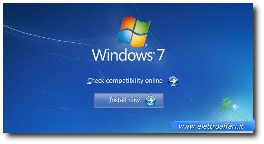 Schermata Windows 7