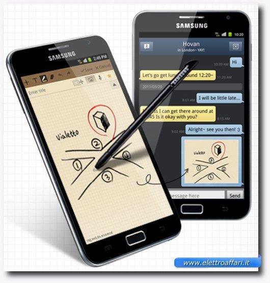 Comunicare idee ed emozioni con Samsung Galaxy Note