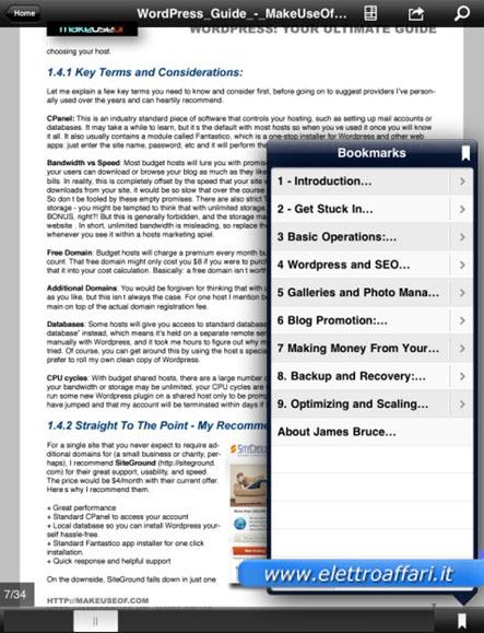 Immagine di Adobe Reader per iPad e iPhone