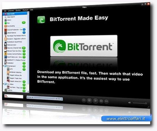 Immagine che apre il paragrafo sugli svantaggi di BitTorrent