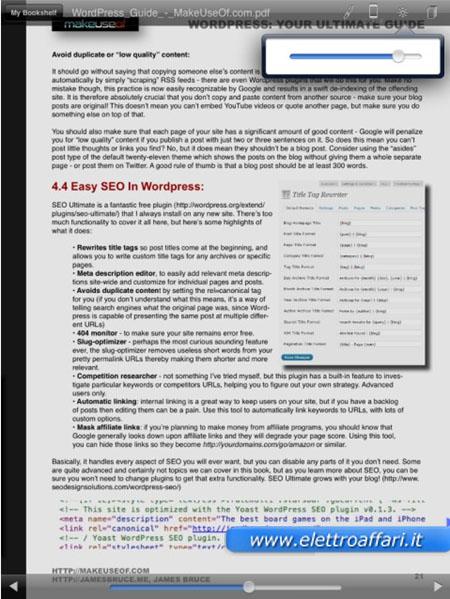 Immagine di CloudReaders per iPad e iPhone