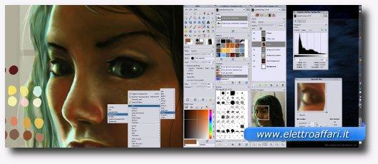 Interfaccia grafica di uno dei migliori software per Linux
