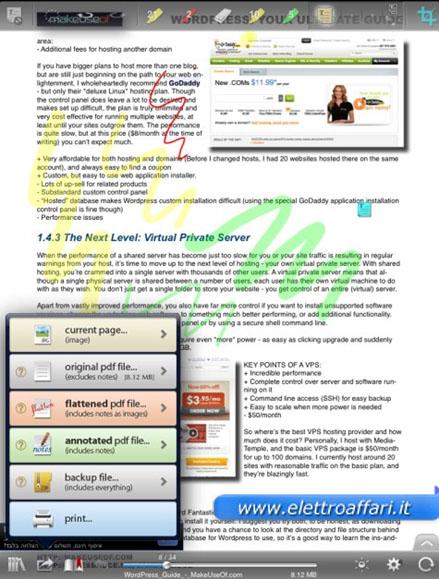 Immagine di PDF-Note per iPad e iPhone