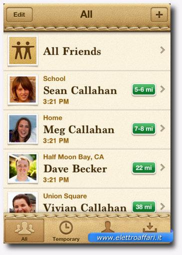 Find My Friends: una delle più importanti applicazioni per iPhone 4S