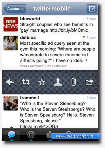 Twitter: una delle più importanti applicazioni per iPhone 4S