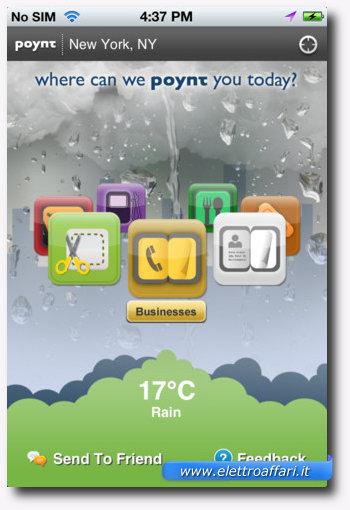 Poynt: una delle più importanti applicazioni per iPhone 4S