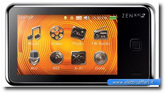 Immagine del Creative Zen Xi-Fi 2