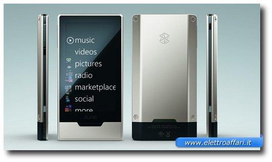 Immagine del Microsoft Zune HD