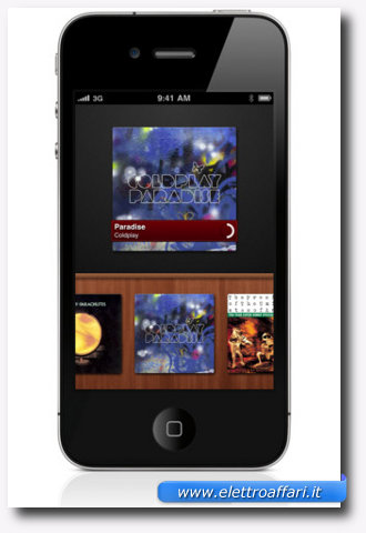 Nona applicazione di musica per iPhone, iPad e iPod Touch