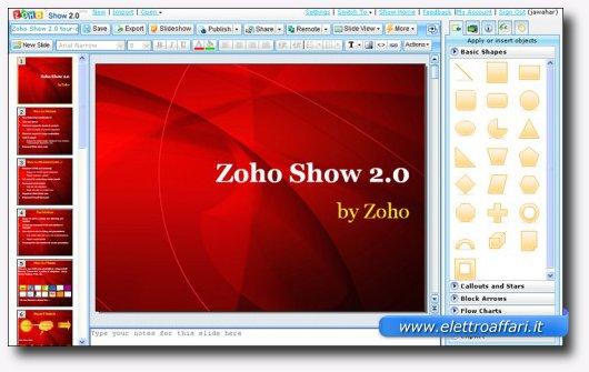 Quarto servizio online per creare presentazioni stile PowerPoint