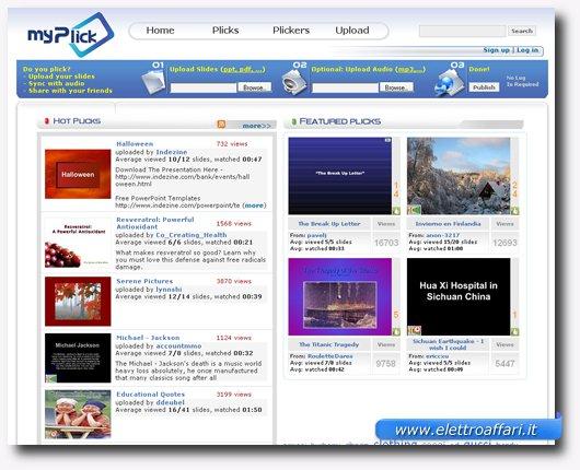 Ottavo servizio online per creare presentazioni stile PowerPoint