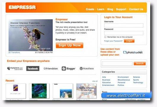 Undicesimo servizio online per creare presentazioni stile PowerPoint