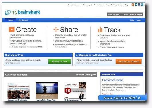 Dodicesimo servizio online per creare presentazioni stile PowerPoint
