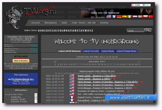Quarto sito in alternativa a AngelMule e ItalianShare