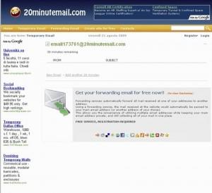 Decimo servizio per creare un indirizzo email temporaneo