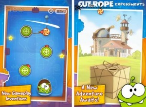 Immagine del gioco Cut the Rope: Experiments per iPhone