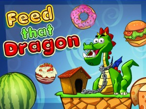 Immagine del gioco Feed That Dragon per iPad