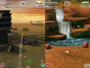 Immagine del gioco Flick Golf Extreme! per iPhone