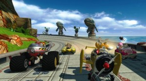 Immagine del gioco Sonic & SEGA All-Stars Racing per iPhone