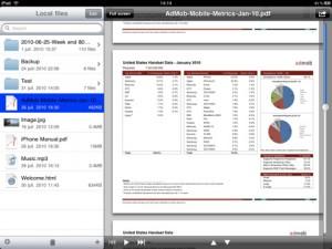 Interfaccia della terza applicazione per creare ed aprire file RAR e ZIP
