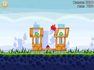 Immagine del gioco Angry Birds per iPad