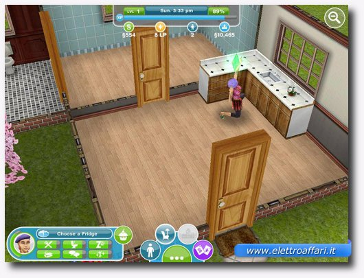 Immagine del gioco The Sims FreePlay per iPad