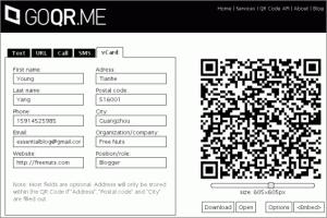 Immagine dell'ottavo servizio online per creare codici QR