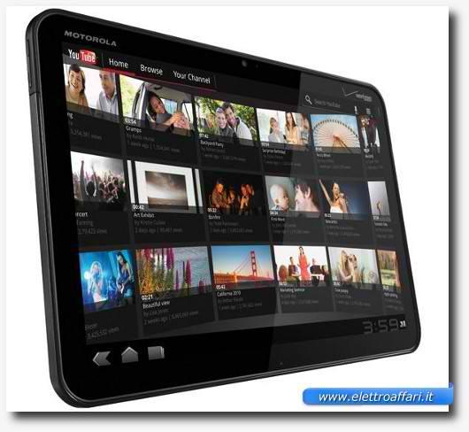 Immagine del tablet Motorola Xoom