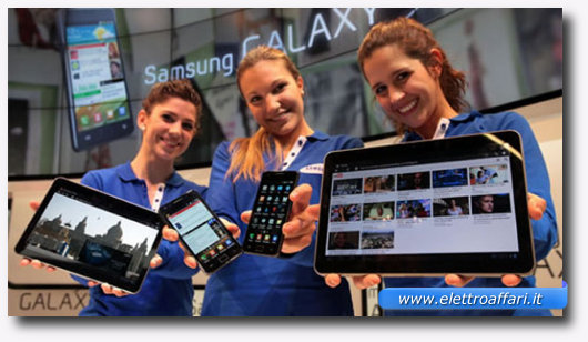 Immagine del tablet Samsung Galaxy Tab 10.1