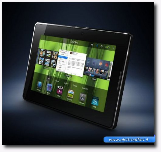 Immagine del tablet BlackBerry PlayBook