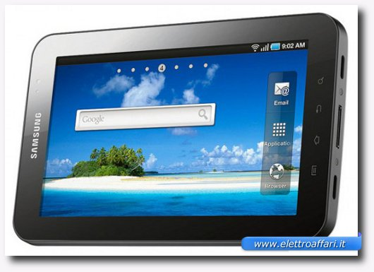 Immagine del tablet Samsung Galaxy Tab 7in