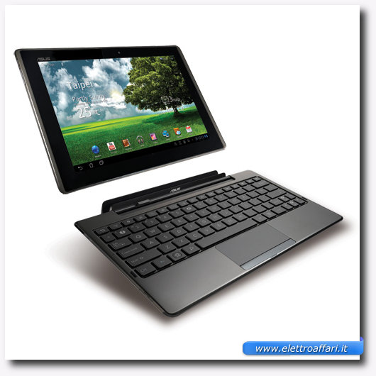 Immagine del tablet Asus Eee Pad Transformer