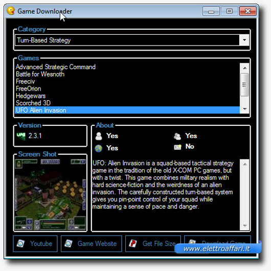 Immagine di Game Downloader, programma per Windows