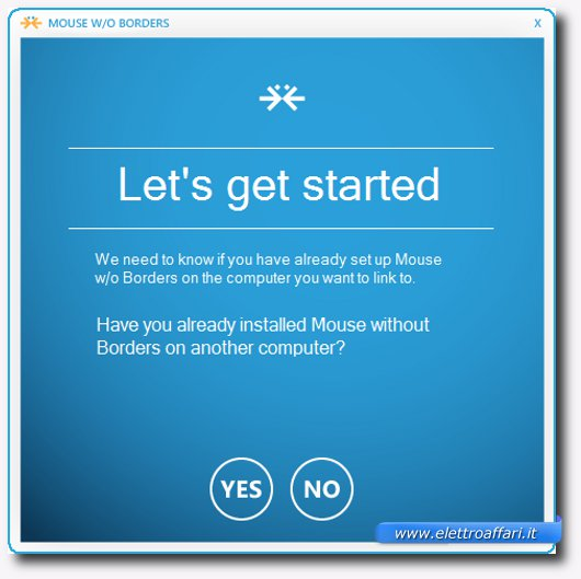 Immagine di Mouse Without Borders, programma per Windows