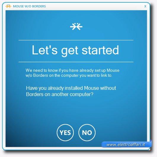 Immagine di Mouse Without Borders, programma per Windows