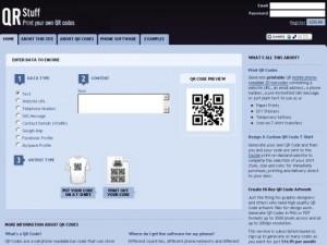 Immagine del sesto servizio online per creare codici QR