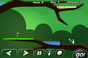 Immagine del gioco Super Stickman Golf per iPhone