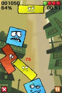 Immagine del gioco Topple per iPhone